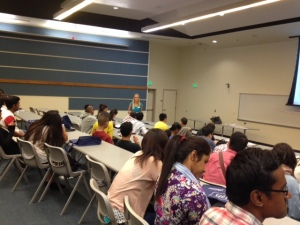 UNR New  Int'l Student Workshop (Fall, 2014)